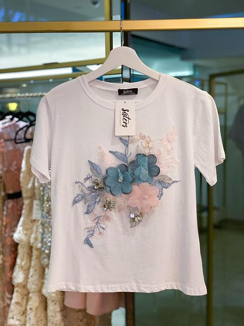 T-Shirt 3D Flowers