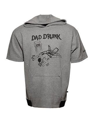 Dad Drunk (Short Sleeve Hoodie!)