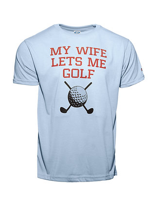 My Wife Let's Me Golf
