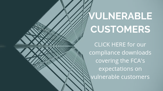 vulnerable customers FCA compliance