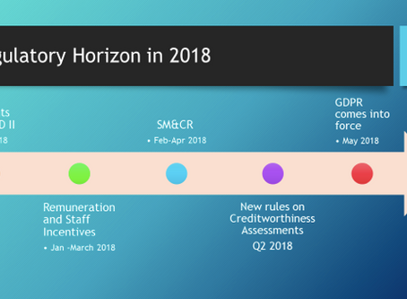 Regulatory Horizon for 2018