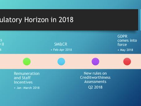 Regulatory Horizon for 2018