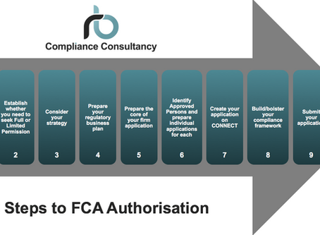 10 Steps to FCA Authorisation