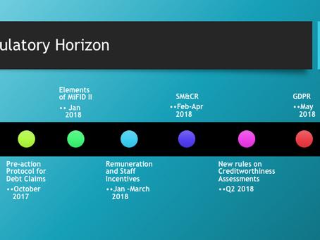 What's on the Regulatory Horizon?