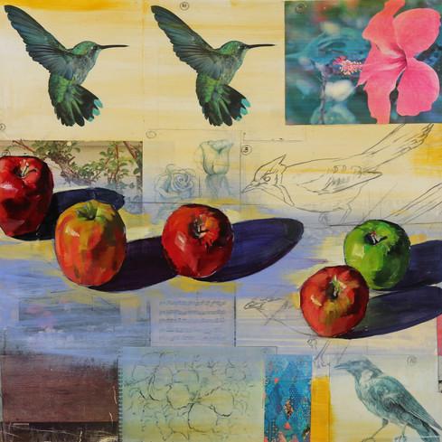 Fifteen Apples (Triptych 3/3)