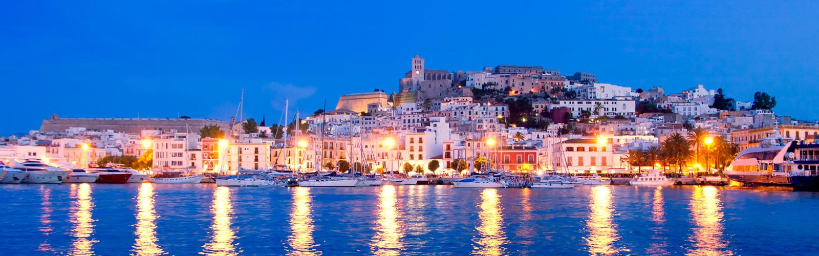 Ibiza by night