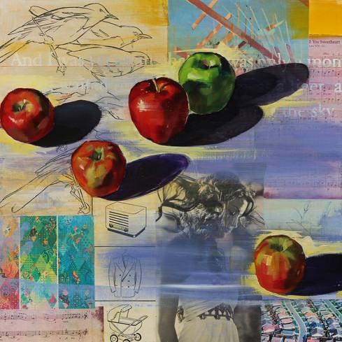 Fifteen Apples (Triptych 1/3)