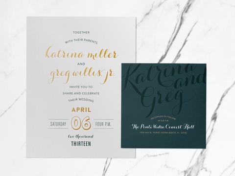 Katy Garrison Wedding Invite Design - 11
