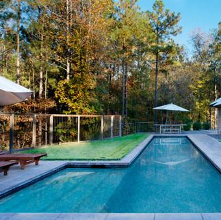 Traditional Pool & Backyard Modern Rusti