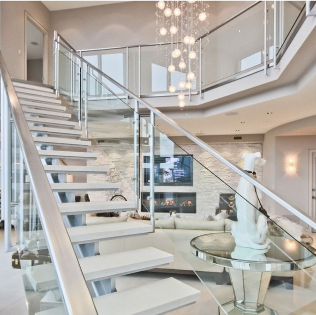 Luxurious Penthouse Entrance  - Moon Bro
