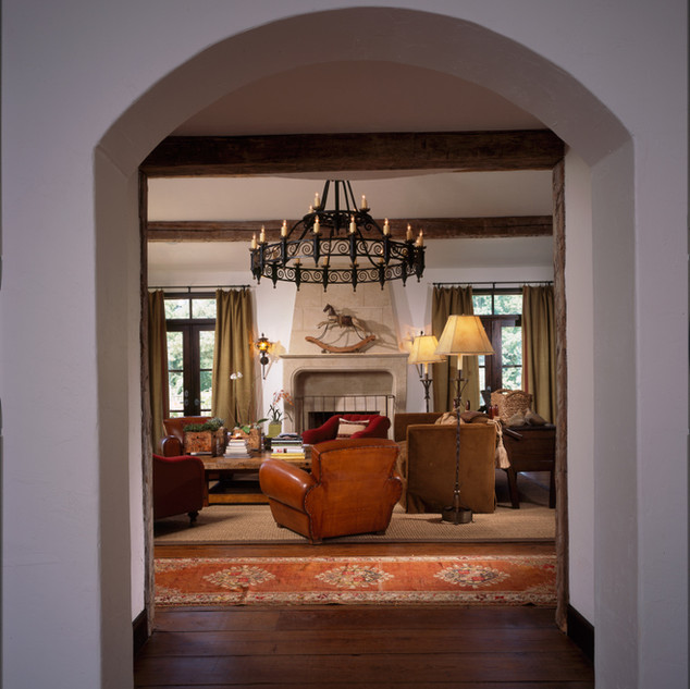 French Country Entryway Modern Rustic Ap