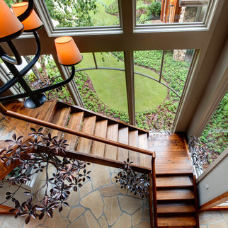 Modern Rustic Stairway & Landscaping Mod