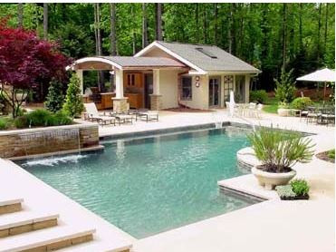 Modern Pool & Landscape Design - Moon Br