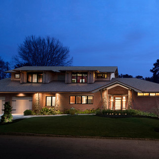 Houston Mill Traditional Exterior Modern