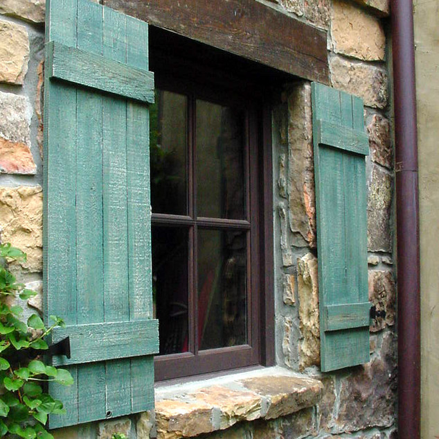 French Country Custom Shutters & Windows