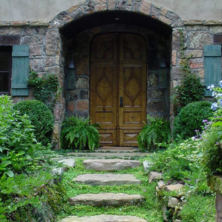 French Country Custom Door & Entrance Mo