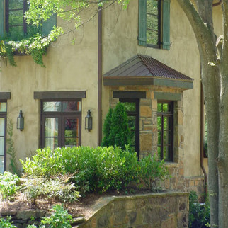 French Country Exterior Entrance Modern
