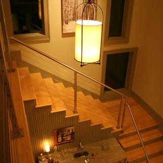 Modern Stairway & Window Design Modern R