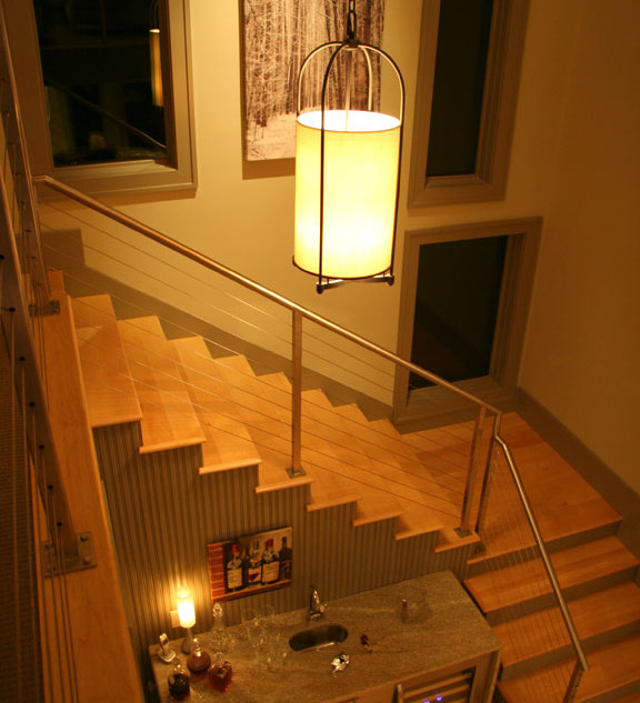 Modern Stairway & Window Design Modern R