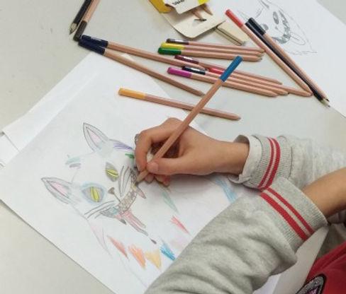 Fumetto Junior in classe