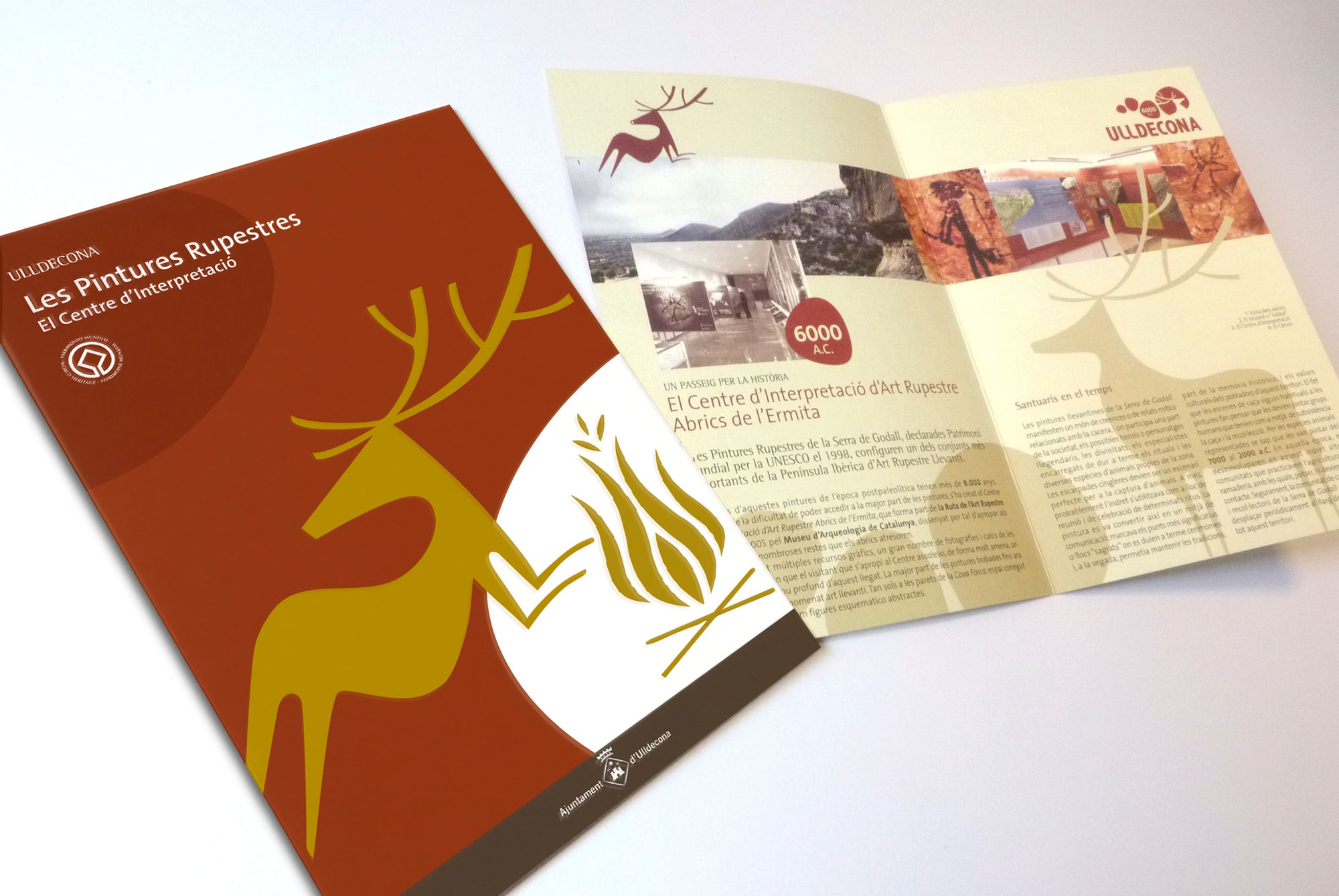 Ulldecona flyers promozionali
