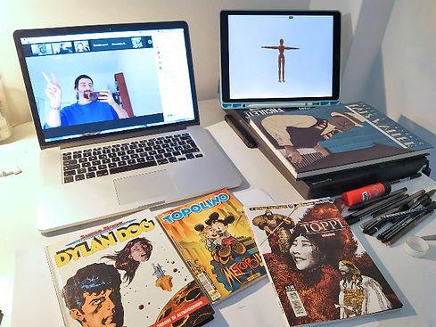 Martoz Scuola Comics Milano