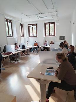illustrazione lezioni in sicurezza Scuola Comics Milano