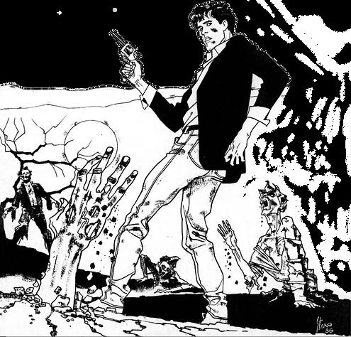 Fumetto di Angelo Stano docente Scuola Comics Milano