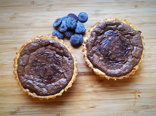 "4"" chocolate tarts"