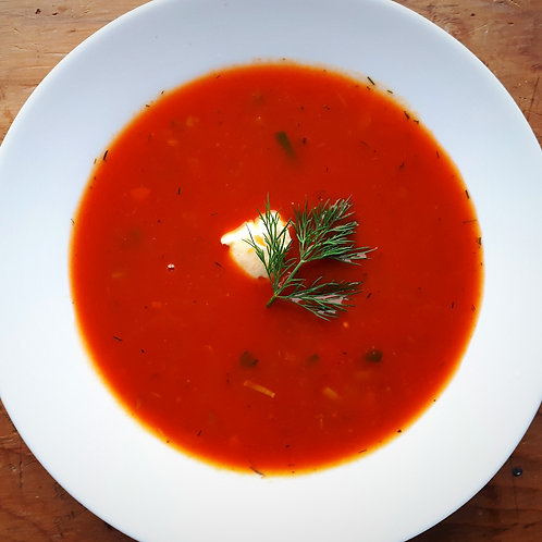 Spicy Tomato Dill Soup