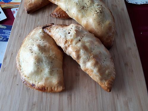 (Vegan) Potato, Cauliflower, and ChickPea Hand Pie