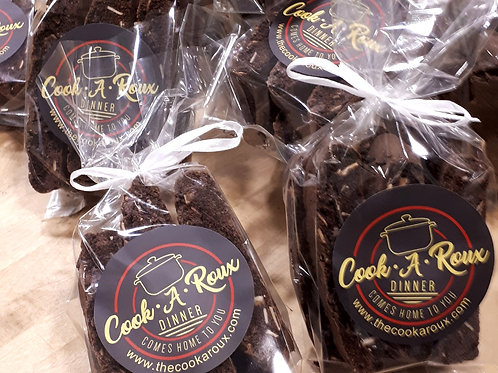 Double Chocolate Almond Biscotti 2 packages