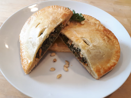 Spinach, Feta and Sun-dried Tomato Handpie