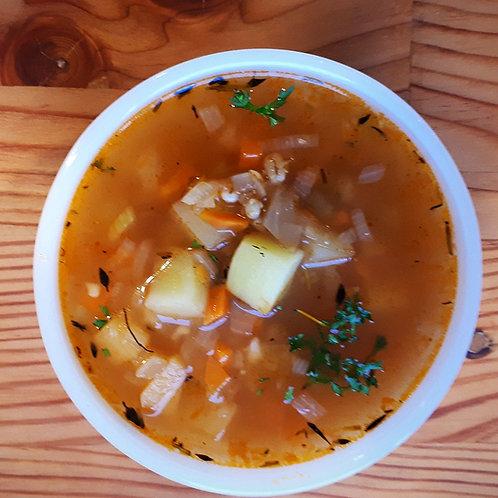 Harvest Vegetable and Barley Soup