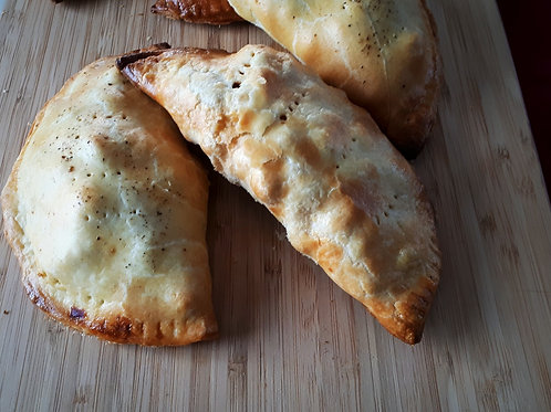 Potato, Cauliflower and chickpea Hand Pies