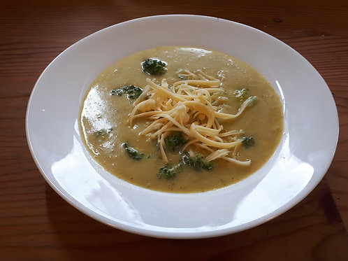Creamy Broccoli Gouda Soup