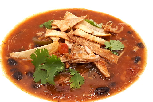 Chicken Tinga Tortilla Soup