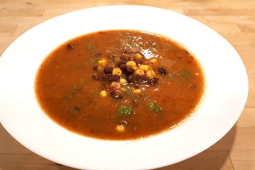 Chipotle Squash and Black Bean Soup