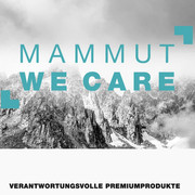 "Mammut ""WE CARE"""