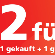 "Sunrise Campaign ""2 für 1"""