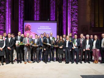Fakultätspreis Bester Doktorand 2016 für Herrn Dr. David Schmicker