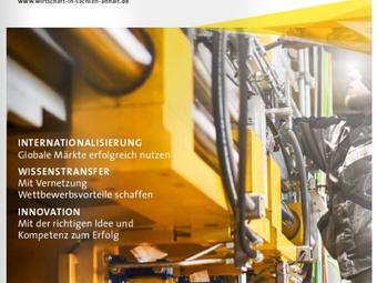 Presseartikel zur Reibschweißsimulation in HIER + JETZT Ausgabe 01/2015
