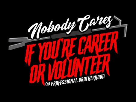 """Just a Volunteer"""