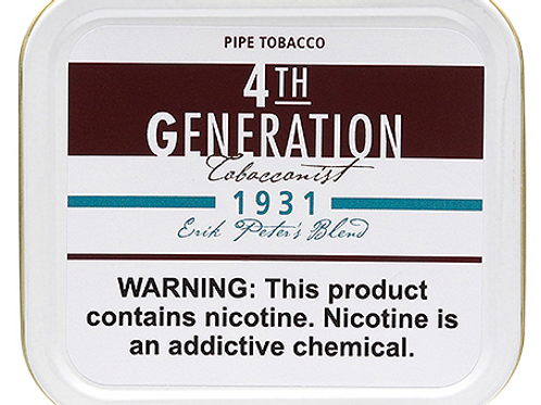 4TH Generation 1931 Pipe Tobacco