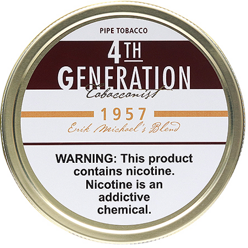 4TH Generation 1957 Pipe Tobacco