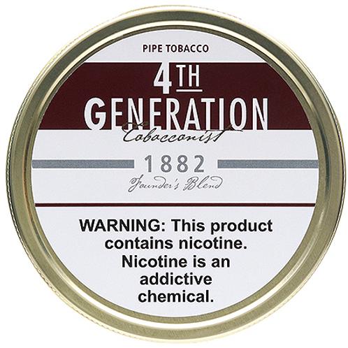 4TH Generation 1882 Pipe Tobacco
