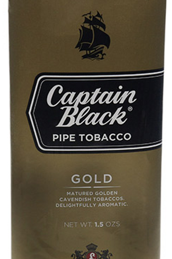 Captain Black Gold pouch
