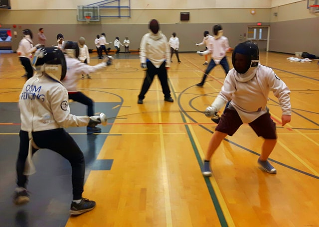 School Fencing Clinic