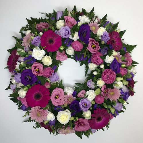Sympathy Wreaths Full Flower