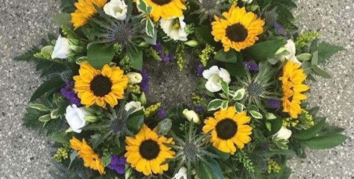 Sympathy Wreaths Full Flower